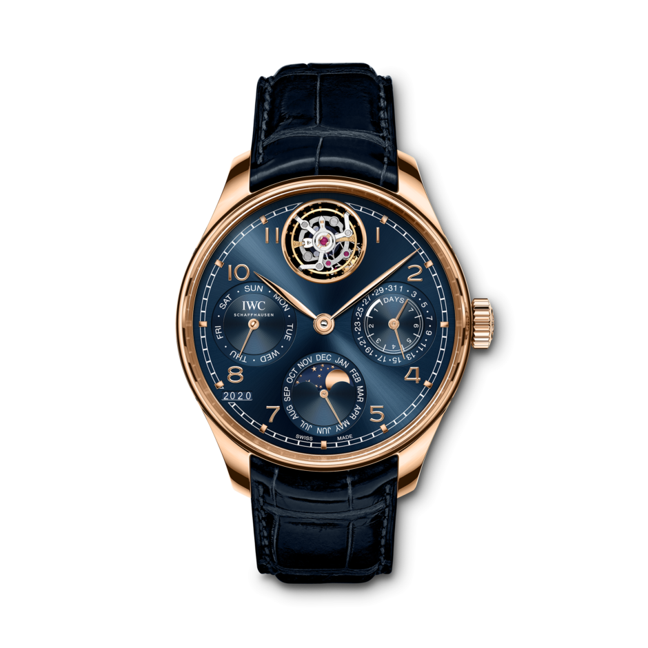 Reaches New Pinnacles:AAA  IWC Released New Portugieser Tourbillon-Equipped Complications Replica Watches