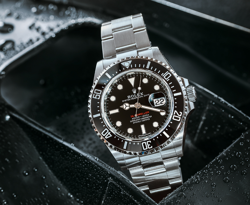 Reviewing of Best Revamped Rolex Sea-Dweller Replica Watches